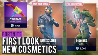 'NEW' HIDDEN EPIC SKINS LEAKED! (PREMIER LOOK) - Fortnite: Bataille Royale