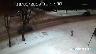В Верхней Салде сбили пешехода на улице Ленина. ДТП 19.01.2018