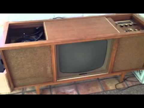 1960s Record Player Radio Tv Youtube