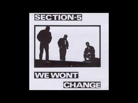 Section-5 ‎– We Wont Change (FULL ALBUM)