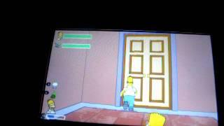 video bug  dans les simpson le jeux sur psp