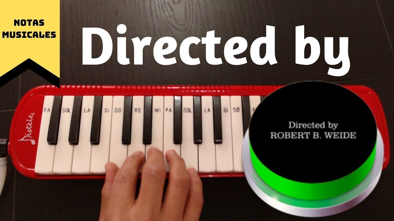 "Tutorial // Cómo tocar ""Directed by Robert B. Weide"" (meme ..."