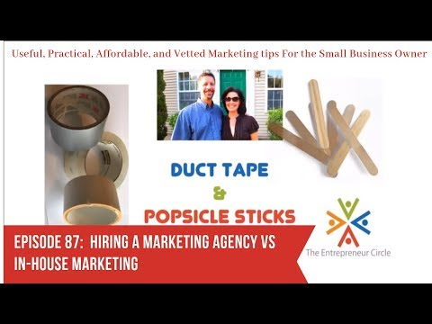 Hiring a Marketing Agency vs In-House Marketing