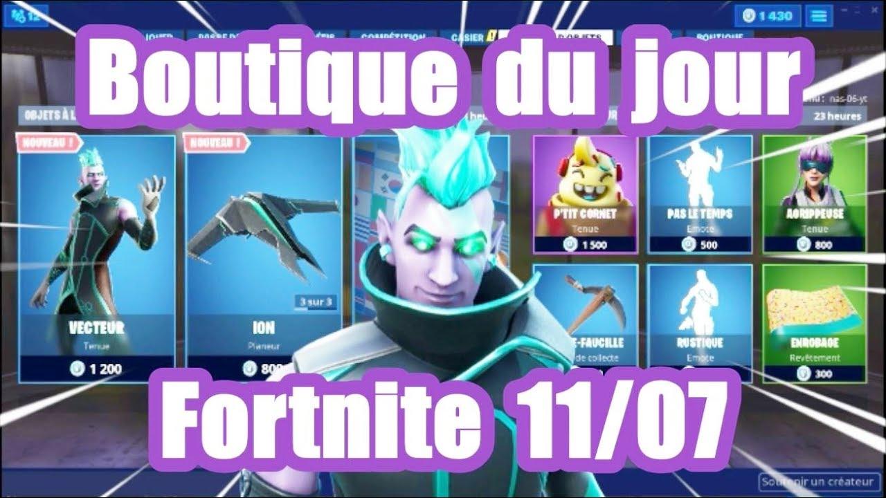 Saison 9 Fortnite Fin Boutique Du 11 Juillet 2019