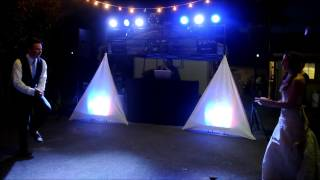 DJ Gig Log - August 31st 2014 Moore Wedding by Tah-Dah Productions
