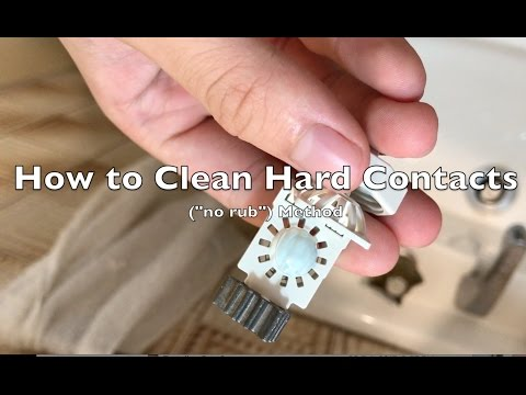 Tutorial: How to Cleaning Hard Contacts (Peroxide based)