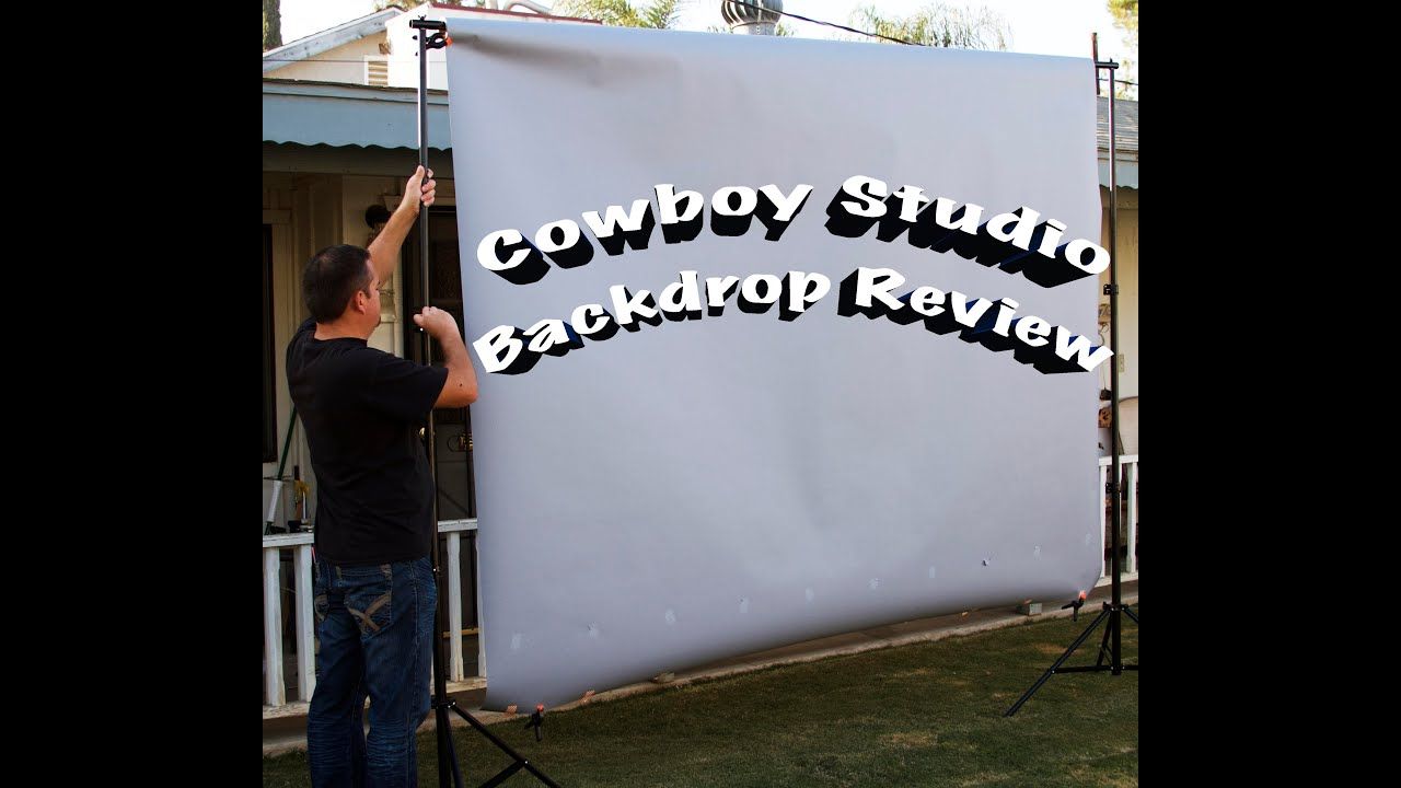 Cowboystudio Portable Background Support Stand Review