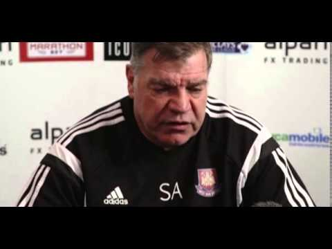 West Ham's Sam Allardyce shrugs off Diafra Sakho's Africa Cup of Nations ban
