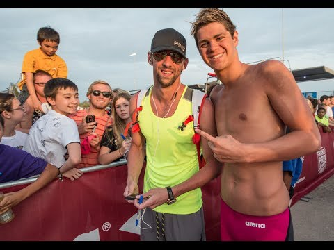 Michael Andrew Meets Michael Phelps: Gold Medal Minute presented by SwimOutlet.com