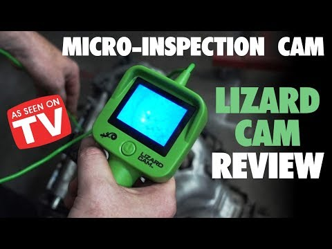 Lizard Cam Review: As Seen on TV Inspection Cam