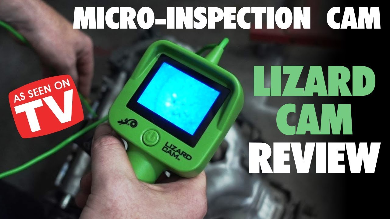 Lizard Cam Review As Seen On Tv Inspection Cam Youtube