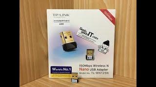 TP-LINK USB Wifi 150Mbps Wireless N NANO USB Adapter TL-WN725N