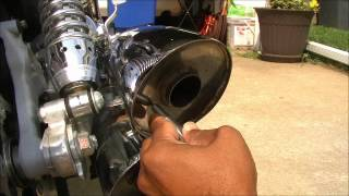 02 v rod drilled exhaust vrsca