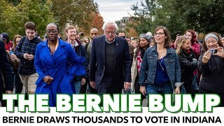 Video Bernie Draws Thousands To Vote In Indiana On A Weekday Morning download MP3, 3GP, MP4, WEBM, AVI, FLV Oktober 2018