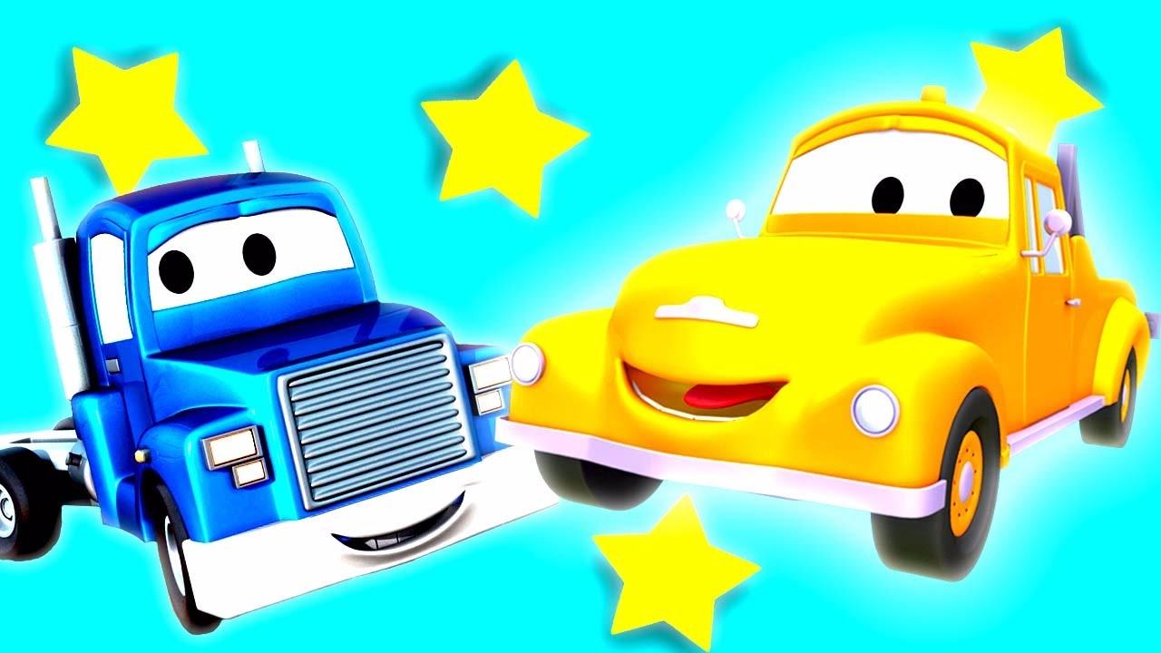Трансформер Карл; Эвакуатор Том в Автомобильный Город | Мультфильм для детей