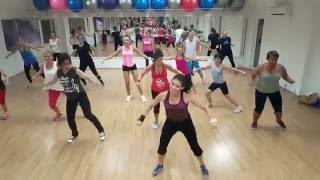 "J Balvin ft Bia, Pharrell Williams & Sky - ""Safari"" Zumba Fitness Choreography"