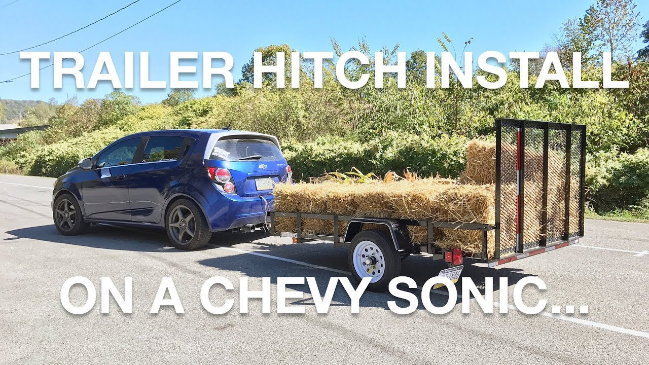 INSTALLING A TRAILER HITCH ON A CHEVY SONIC - YouTubeYouTube