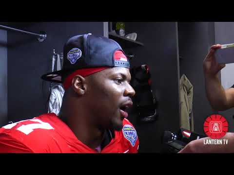 Cotton Bowl: Ohio State LB Jerome Baker speaks after his team's 24-7 win over USC.