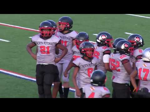 Almichael Wallace  #25  North Potomac Braves vs Maryland Titans 12U Beast Mode (  4th Quarter  )