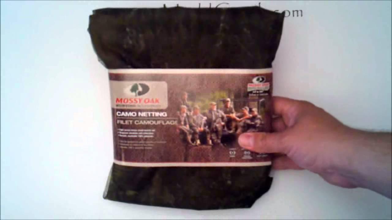 Mossy Oak Break Up Camo Netting Hunting Blind Review by MUDD CREEK