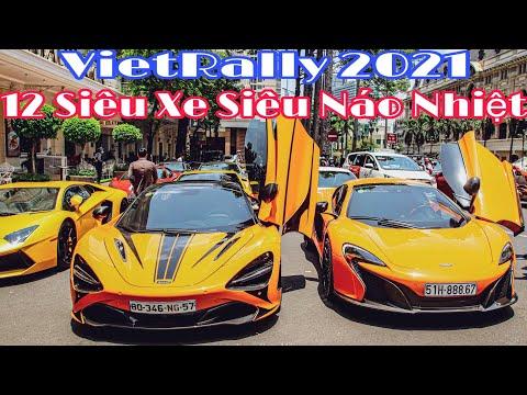 VIETRALLY 2021   Thánh Địa Siêu Xe Sài Gòn Như Nổ Tung Với Dàn Siêu Xe Chất Lượng