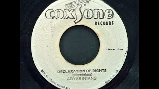 Abyssinians - Declaration Of Rights & Dub Of Rights