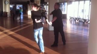 Dancesport Dance Domain Championships Training 2013