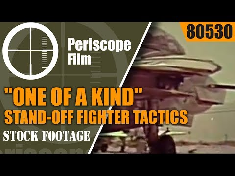 "F-14 TOMCAT PROMOTIONAL FILM  ""ONE OF A KIND"" STAND-OFF FIGHTER TACTICS 80530"