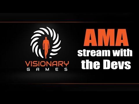 """VISIONARY GAMES """"ASK ME ANYTHING""""!"""
