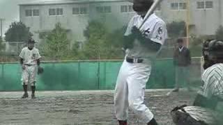 宇佐高校硬式野球部 2008 宇佐高校VS宇佐産業科学高校 大分県北大会