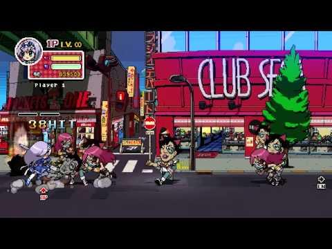 Phantom Breaker Battle Grounds Intro and Stage 0 Akihabara PC Steam version  
