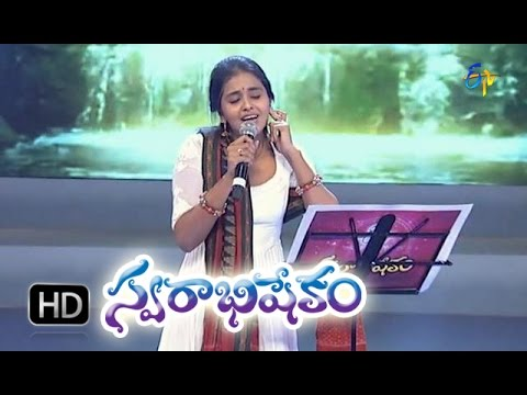 Alupannadi Unda Song - Smita Performance in ETV Swarabhishekam - 25th Oct 2015