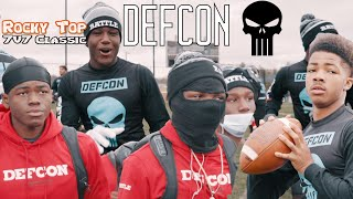 #1 7on7 TEAM IN THE NATION DEFCON TURNT TENNESSEE UP!|| Rocky Top 7v7 classic|| beyond reality