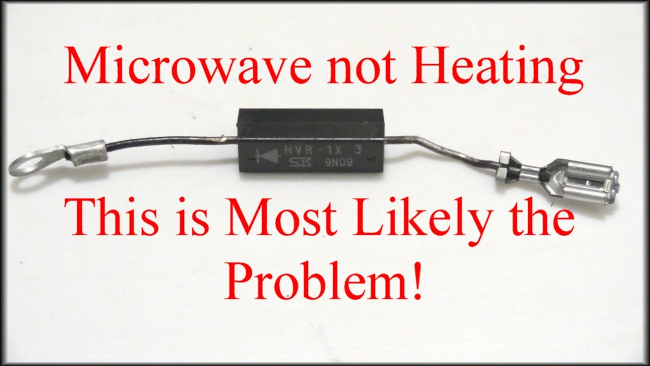 microwave not heating easy fix