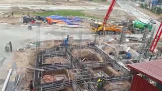 Dự án Dragon Park Văn Giang đã song hạ tầng - ngày 1/12/2017