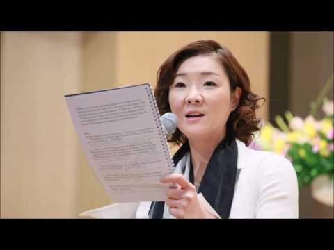 Sun Jin Moon Speaks at Intl Event at Cheonbokgung, April 22
