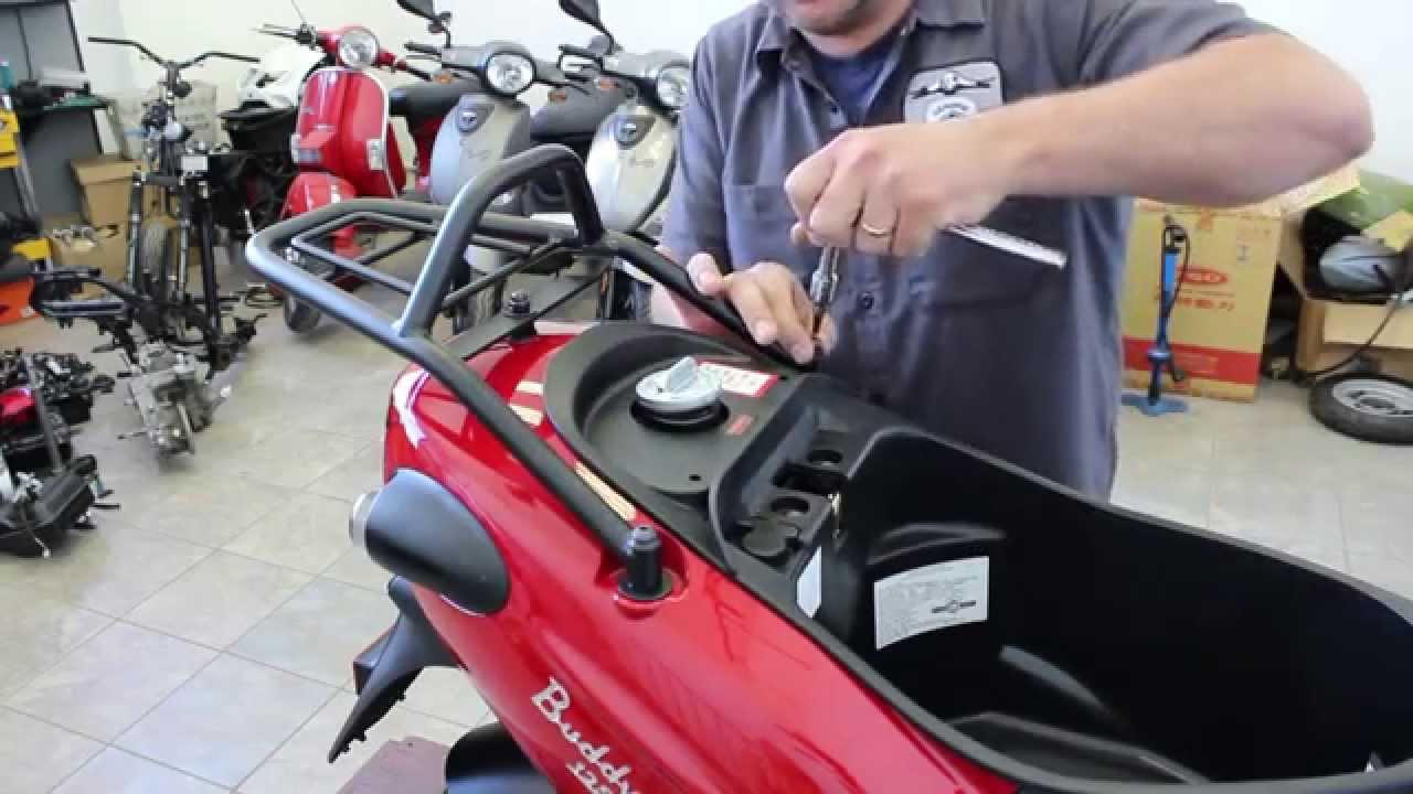 How To Install A Prima Rear Rack For Buddy Scooter