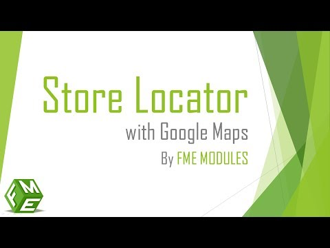 Store Locator With Google Maps Module