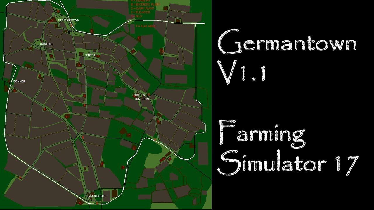 Farming Simulator 17 Map First Impressions Germantown V11 YouTube