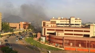 Federal High Court in Abuja is currently on fire