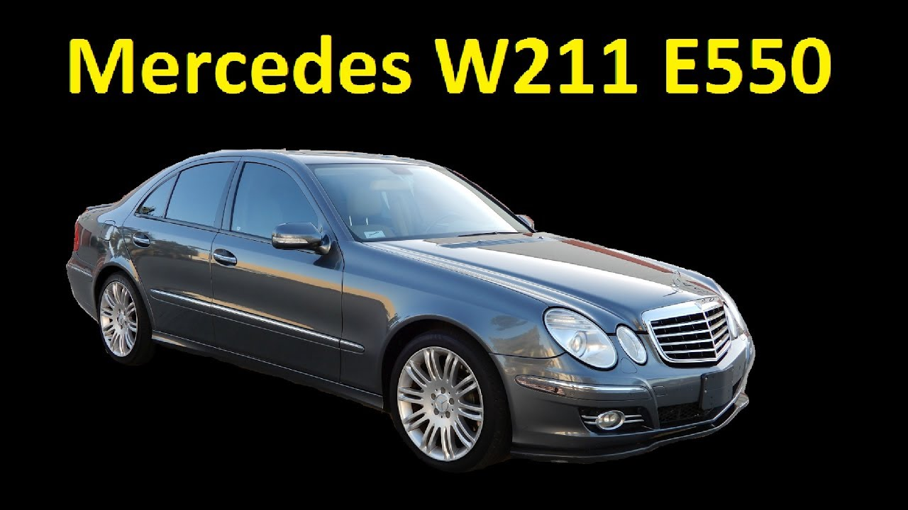 Used 2007 Mercedes Benz W211 E550 Sedan Interior Review