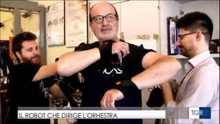 Rodyman conducts the orchestra @ Ravello Festival - RAI3 TGR 230719