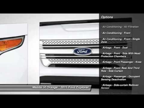 2015 Ford Explorer Orange CA 00450354