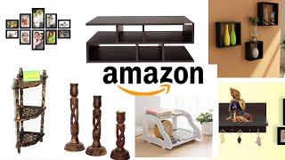 Amazon wooden decor and furniture haul|| Amazon का लकड़ी का furniture और सजावट का समान