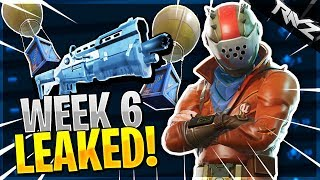 ALL WEEK 6 CHALLENGES LEAKED! NEW POSTER GRAFFITI & More! (Fortnite Battle Royale Season 4 Week 6)