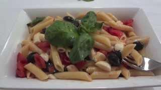 Pasta Fredda Con Pomodoro E Mozzarella