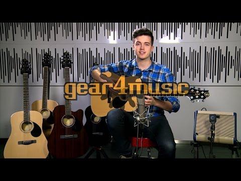 Greg Bennett D-1 and D-2 Acoustic Guitars