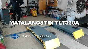 Autonosturi Autotalliin - Launch TLT330A