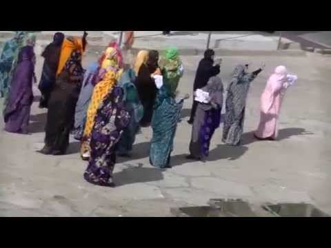 Demonstration against Kosmos Energy in occupied Western Sahara