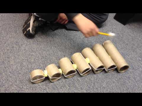 Instrument Project 2013 : Nickolodeon's Chained Xylophone
